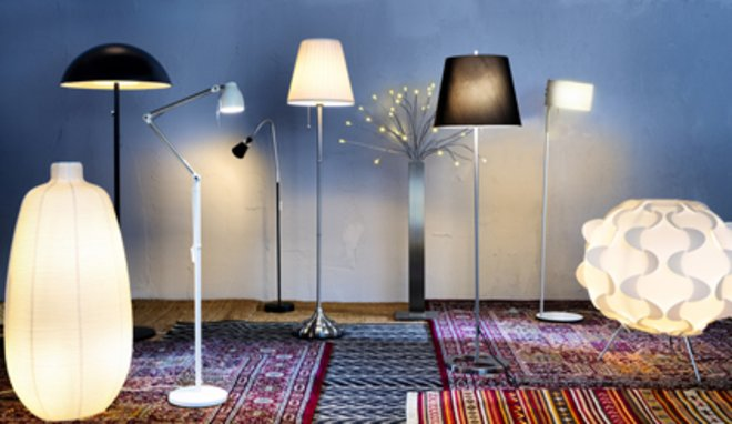 Les lampadaires ikea pour illuminer vos int rieurs - Lampadaire interieur ikea ...
