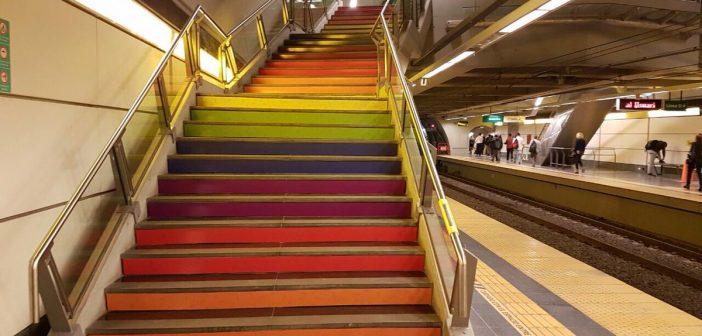 Une station de métro aux airs lesbiens à Buenos Aires!