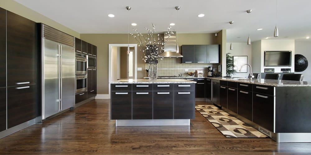 une d co de style contemporain dans la cuisine. Black Bedroom Furniture Sets. Home Design Ideas