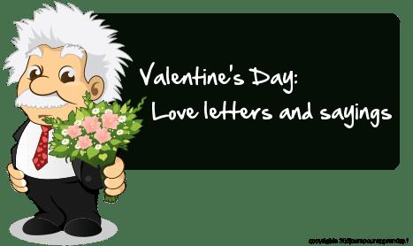 lettre d amour en anglais