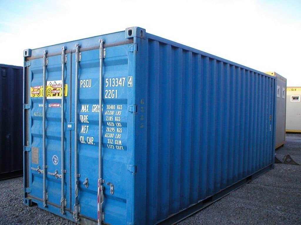 Un container de stockage, pour quoi faire?