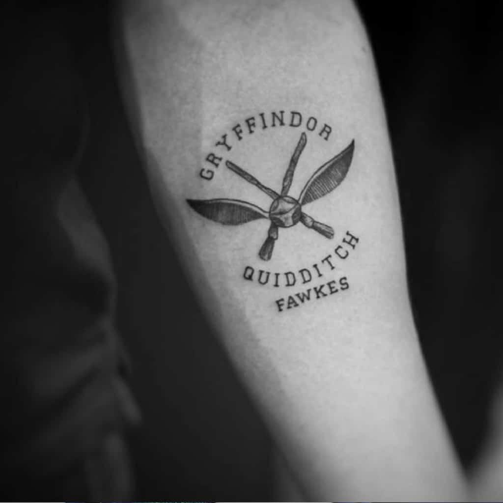 Top 3 des idées tatouage sur le thème d'Harry Potter