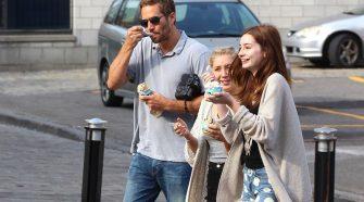 Paul Walker, Rebecca Soteros et leur fille Meadow