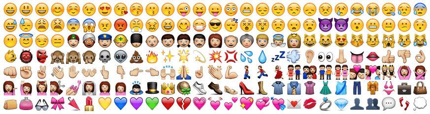 emojis - émoticones