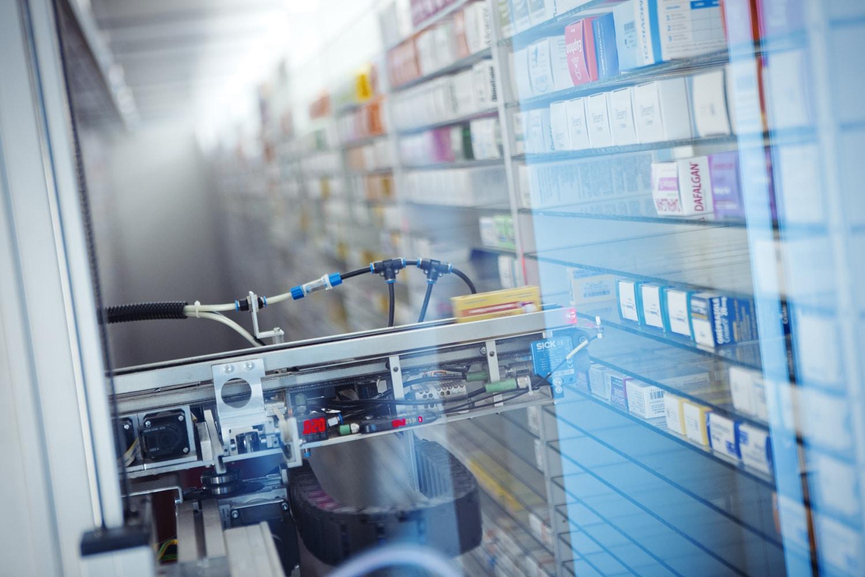 robot pharmacie