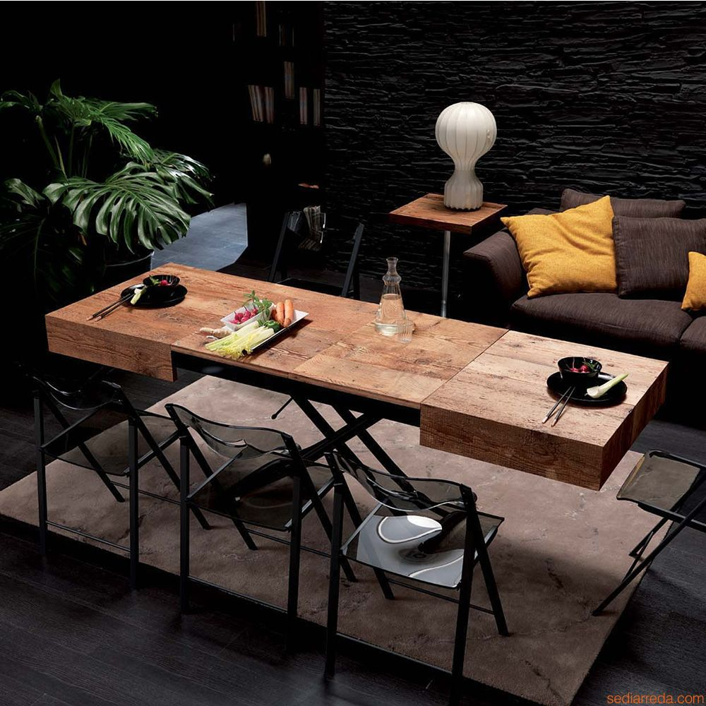 choisir une table up down pour un petit logement. Black Bedroom Furniture Sets. Home Design Ideas