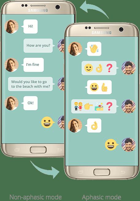 Traduction: Samsung au service des personnes aphasiques
